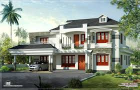 New Style Kerala Luxury Home Exterior House Design Plans House