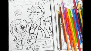 mlp coloring book my little pony coloring pages for kids youtube