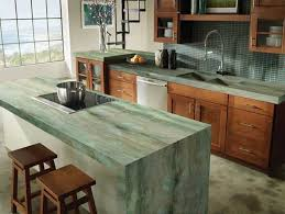 Kitchen Countertops Materials by Kitchens With Green Countertops Bstcountertops