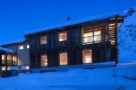 catered ski chalet davos chalet berghof cote leo trippi