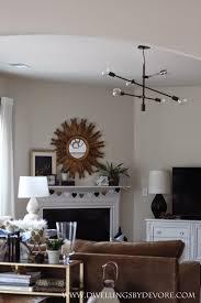 Open Floor Plan Living Room Furniture Arrangement by Dwellings By Devore Choosing Lighting For Open Floor Plans