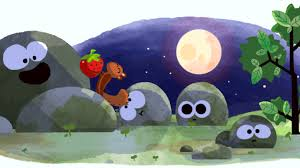 Strawberry Moon Summer Solstice And Strawberry Moon Google Doodle Marks First Day