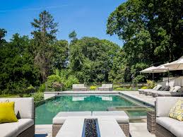 Infinity Pool Backyard by Infinity Pool Facing Parkland U2013 Sean Jancski Landscape Architects