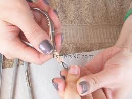 shellac nails at home