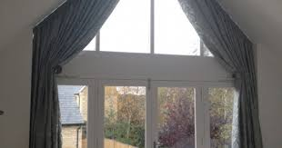 Blinds For Angled Windows - shaped windows house blinds