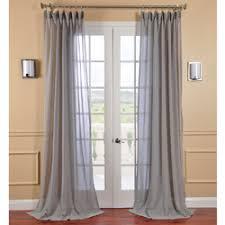 Light Grey Sheer Curtains Eclipse Chelsea Uv Light Filtering Window Sheer Curtain Panel