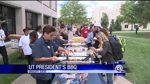 ut president u0027s backyard barbecue wtvg youtube