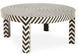black and white side table 7 black and white coffee tables for a modern living room cute