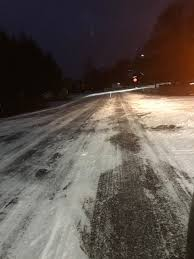 Winter Lane Light Flurries by Rcmp Pei Traffic Rcmppeitraffic Twitter