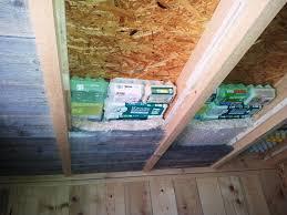 isolation plafond chambre l isolation intérieure des chambres des éco chalets evasion au