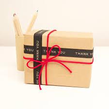gift wrap ribbon thank you gift wrap ribbon by slice of pie designs