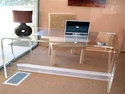 clear acrylic desk stack shelf u2014 all home ideas and decor