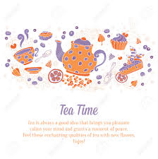 2 221 tea party invitation stock vector illustration and royalty