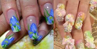 acrylic nail designs ez method