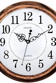silent wall clocks large decorative wall clocks adalene inch large nonticking silent