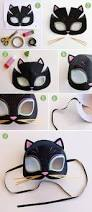 cat animal mask templates to print video instructions color in