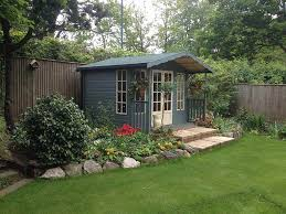 Gardens With Summer Houses - summer houses garden rooms home offices bespoke mb garden building