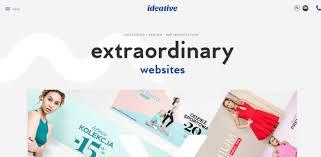 resposive portfolio web design inspiration ideative
