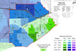 2014 Election Map by Mapping The 2014 Toronto Election Wards 43 And 44 Marshall U0027s
