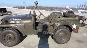military jeep 1955 willys jeep us army youtube