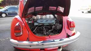1972 vw bug with subaru engine conversion