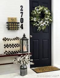 incorporate front door decor welcoming energy guests decorations
