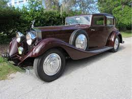 bentley rolls royce phantom 1933 rolls royce phantom ii for sale classiccars com cc 888085