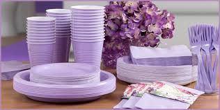 lavender baby shower decorations lavender tableware lavender party supplies party city