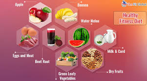 9 foods for fitness along with the fitness tips check it out