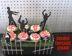 zombie cupcake stand bring your party back to life