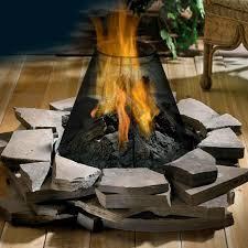 elegant collection of gas fire pit burner furniture designs