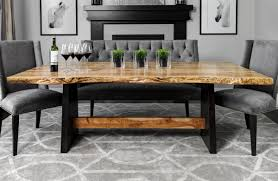 dining room furniture michigan live edge table images live precipice dining room table live edge