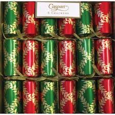 Christmas Cracker Table Decoration by