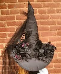 Halloween Costumes Hats Elegant Gothic Witch Hat Halloween Costume Thebohemiangoddess