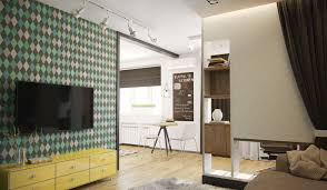 Home Design 50 Sq Ft by 4 Studios Under 50 Square Meters That Use Playful Patterns To Good