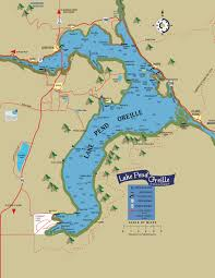 Map Of Lake Superior Lake Pend Oreille Idaho Club