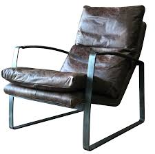 Vintage Leather Recliner Vintage Leather Lounge Chair Urbano Interiors