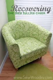 how to cover a chair title recovering the ikea tullsta chair title sew woodsy