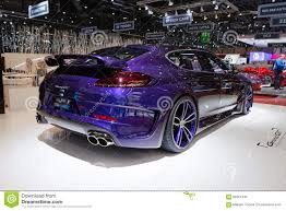 techart porsche panamera techart grand gt based on porsche panamera turbo editorial image