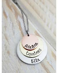 mothers necklace deal alert personalized mothers necklace layered necklace