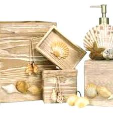 seashell shower curtain bathroom set u2013 homefield