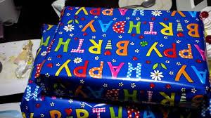unboxing my birthday presents