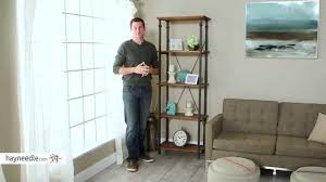 homelegance factory bookcase product review video youtube