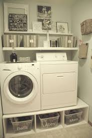 Vintage Laundry Room - shelving ideas for laundry room creeksideyarns com