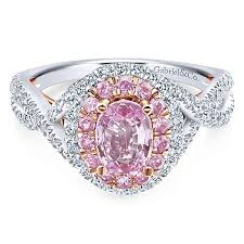 pink sapphire rings images Pink sapphire engagement rings gabriel co jpg