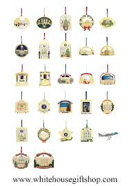 white house ornaments complete collection 1991 to 2015 white