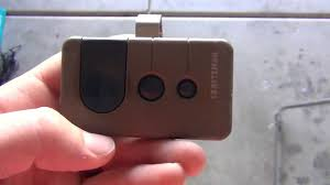 battery operated garage door opener how to program a craftsman garage door opener remote youtube