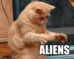 Cat Alien Meme - cat aliens memes quickmeme