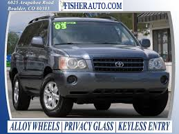 2003 toyota highlander limited reviews used cars 2003 toyota highlander limited boulder longmont