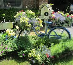 home and garden thursday bicycling yards and flowers